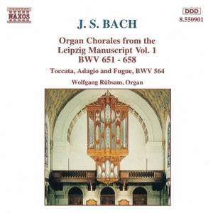 J.S. Bach: Organ Chorales from the Leipzig Manuscript, Vol. 1 Product Image