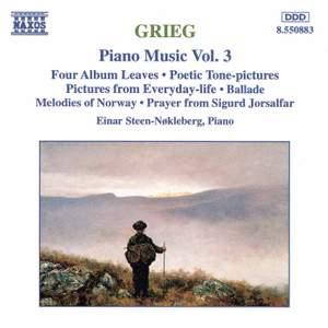 Grieg: Piano Music Vol. 3