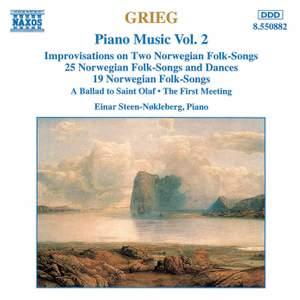Grieg: Piano Music Vol. 2