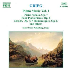 Grieg: Piano Music Vol. 1