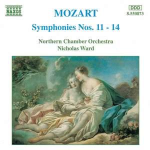 Mozart: Symphonies Nos. 11-14