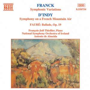 French Music for Piano and Orchestra Product Image