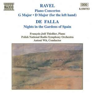 Ravel & Falla: Piano Works