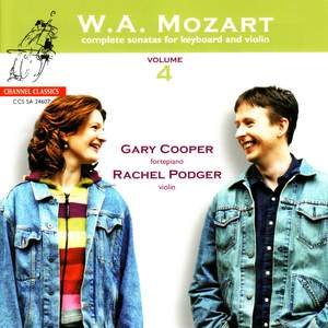 Mozart - Complete Sonatas for Keyboard & Violin, Volume 4