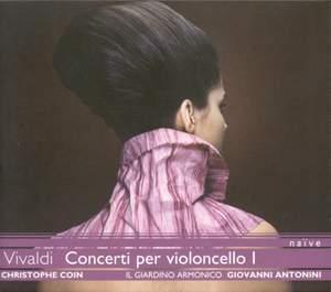 Vivaldi - Cello Concertos Volume 1 Product Image