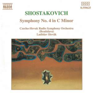 Shostakovich: Symphony No. 4 in C minor, Op. 43 Product Image