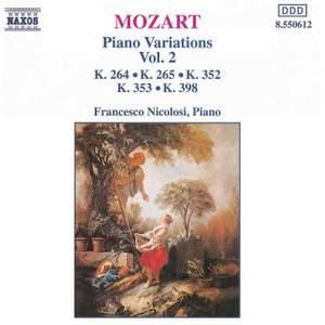 Mozart: Piano Variations, Vol. 2