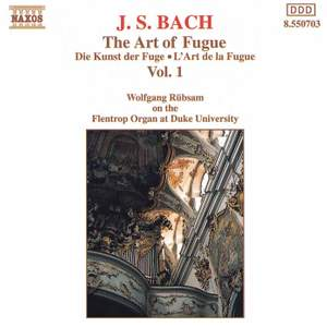 J. S. Bach: The Art Of Fugue, Vol. 1