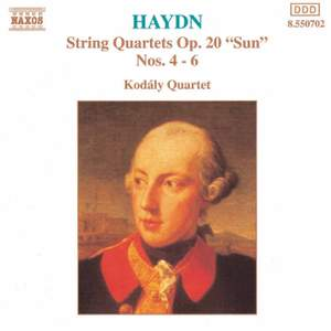Haydn: String Quartet, Op. 20 No. 4 in D major 'Sun', etc.