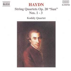 Haydn: String Quartet Op. 20 Nos. 1-3