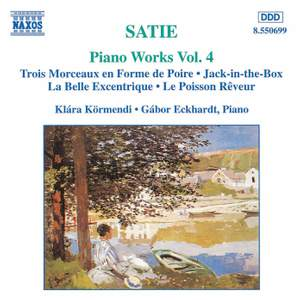 Satie: Piano Works, Vol. 4 Product Image