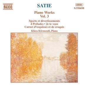 Satie: Piano Works, Vol. 3
