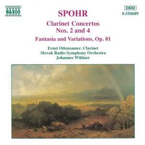 Spohr: Clarinet Concertos Nos. 2 & 4