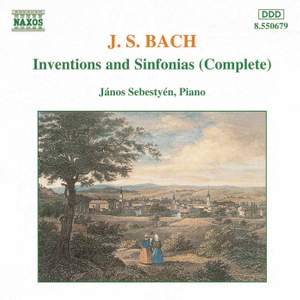 J S Bach: Complete Inventions and Sinfonias Product Image