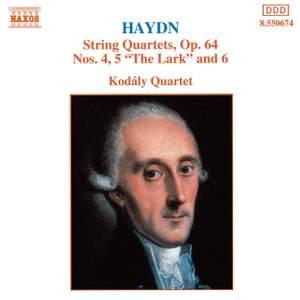 Haydn: String Quartets Op. 64 Nos. 4-6