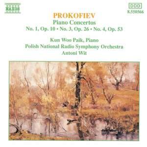 Prokofiev: Piano Concerto No. 3 in C major, Op. 26, etc.