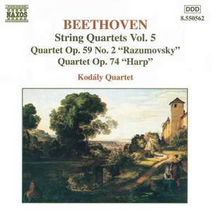 Beethoven: String Quartets, Vol. 5 Product Image