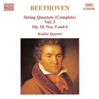 Beethoven: String Quartets (Complete), Vol. 3