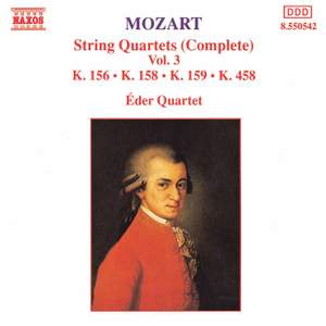 Mozart: String Quartets (Complete), Vol. 3 Product Image
