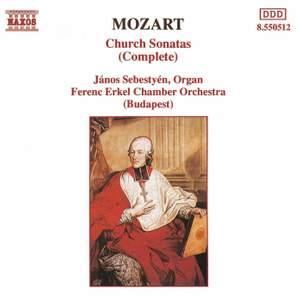 Mozart: Church (Epistle) Sonatas for Organ & Strings Nos. 1-17 Product Image