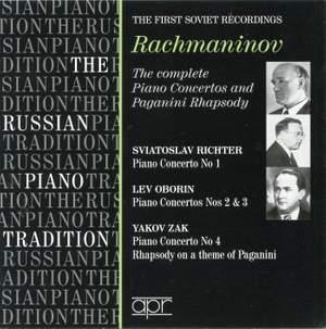 Rachmaninov Piano Concertos