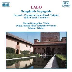 Lalo: Symphonie espagnole, Sarasate: Zigeunerweisen, Ravel: Tzigane