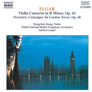 Elgar: Violin Concerto & Cockaigne Overture
