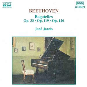 Beethoven: Bagatelles (7), Op. 33, etc. Product Image