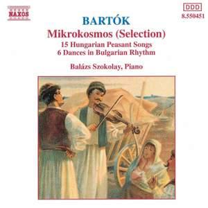 Bartók - Mikrokosmos (selection)