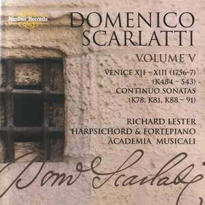 Domenico Scarlatti - The Complete Sonatas Volume 5