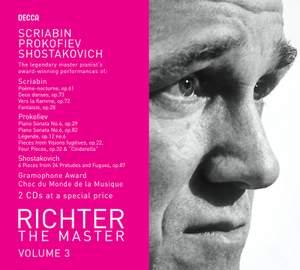 Sviatoslav Richter - The Master Volume 3