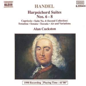 Handel: Harpsichord Suites Nos. 6-8