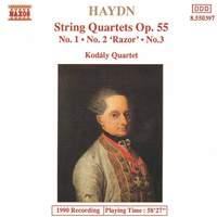 Haydn: String Quartet, Op. 55 No. 1 in A major, etc.