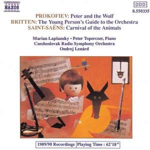 Saint-Saëns: Le carnaval des animaux, Prokofiev: Peter & the Wolf