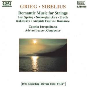 Grieg & Sibelius: Romantic Music For Strings