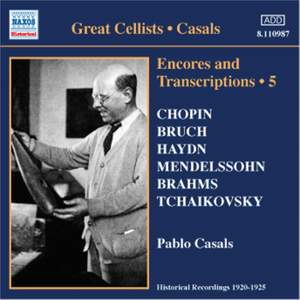 Great Cellists - Casals