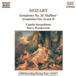 Mozart: Symphony No. 34 in C major, K338, etc.