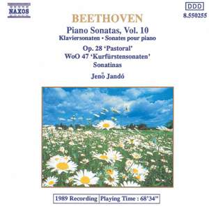 Beethoven: Piano Sonatas, Vol. 10 Product Image