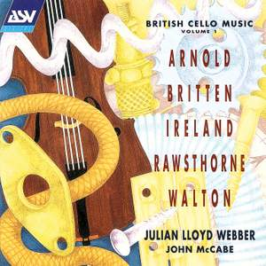 British Cello Music Vol 1