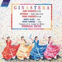 Ginastera: Harp Concerto and Piano Concerto