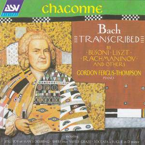 Chaconne - Bach Transcribed Product Image