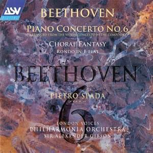 Beethoven: 'Piano Concerto No. 6' (arranged from the Violin Concerto)
