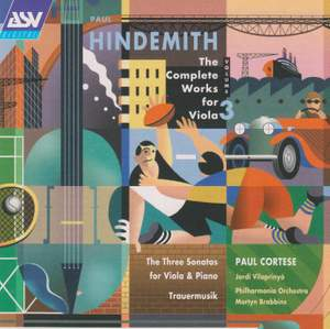 Hindemith: The Complete Works for Viola 3