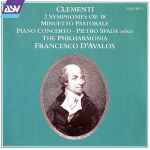 Clementi: Two Symphonies