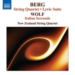 Berg: String Quartet, Op. 3, etc.