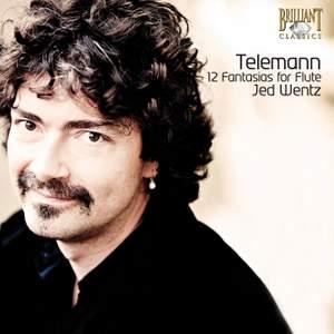 Telemann: Fantasias (12) for solo flute, TWV 40:2-13