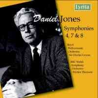 Daniel Jones - Symphonies Nos. 4, 7 & 8