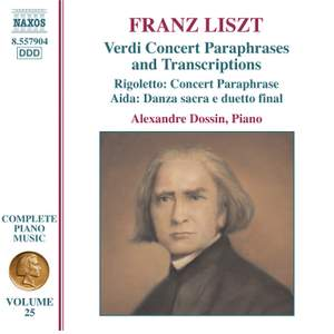 Liszt: Complete Piano Music Volume 25 Product Image