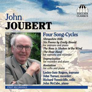 John Joubert: Four Song-Cycles Product Image