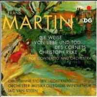 Martin, F: Die Weise von Liebe und Tod des Cornets Christoph Rilke for contalto and orchestra